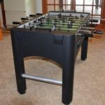 What does a foosball table look like?