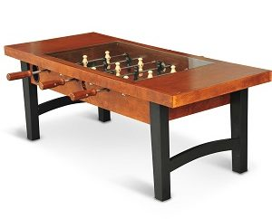 EastPoint Sports Foosball Coffee Table