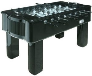 Halex50151 Piano Black Foosball Table
