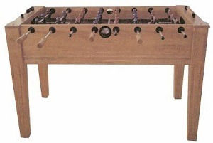 Shaker fat cat foosball table