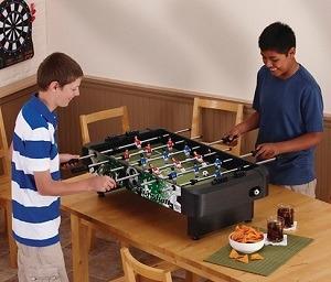 foosball table dimensions standard