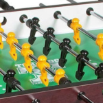 Foosball Table And Players Layout