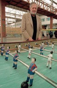 Alejandro Finisterre invented foosball