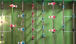 Foosball Player Layout
