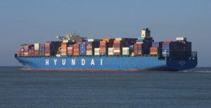 Hyundai Container Ships