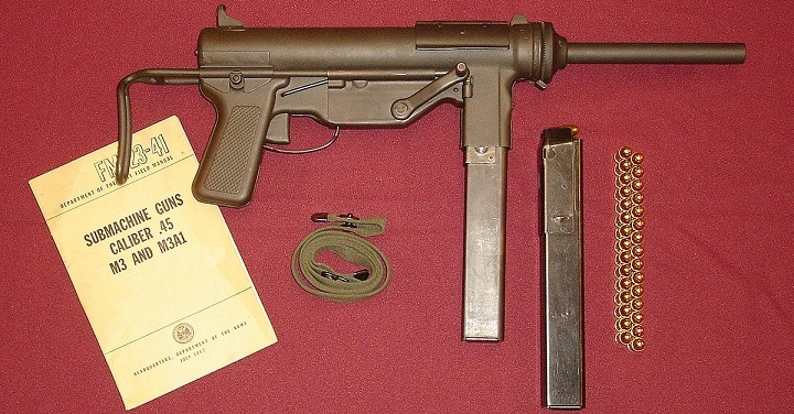 GM M3 Submachine Gun