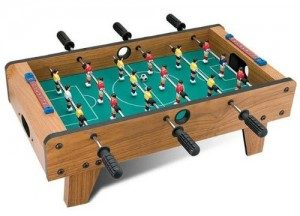 Many Players On a Foosball Table