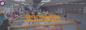 great american human foosball