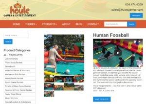 houle human foosball