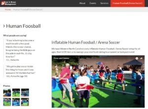 kicki it event human foosbal