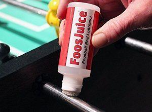 maintain rods on foosball table