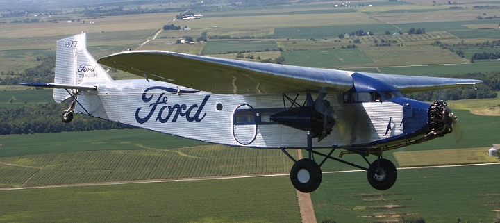 Ford Trimotor Airplane