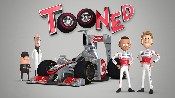 McLaren_tooned cartoon