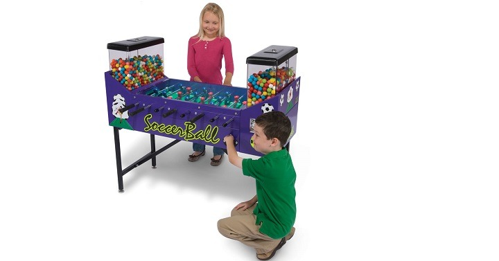 The Only Gumball Foosball Table