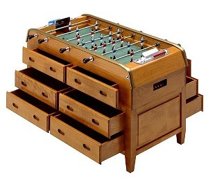 12 Drawer Foosball Table