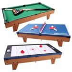 Foosball And Pool Table Games