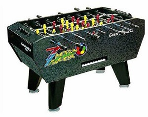 Great American Action Coin Operated Foosball Table