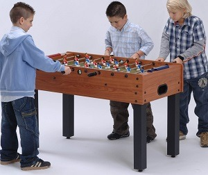 Kid's small foosball table