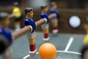 Materials used for foosball players