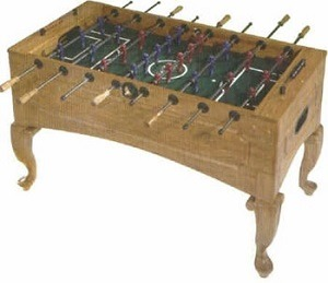 Queen Anne Foosball Table