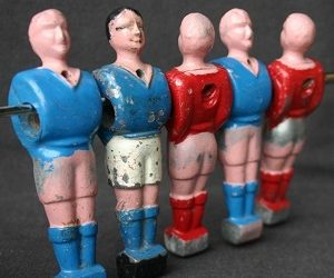 Style of foosball players